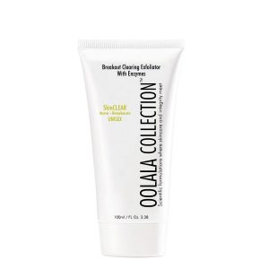 breakout clearing exfoliator with enzyms
