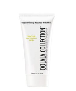 breakout clearing moisturiser with spf
