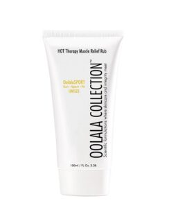 hot therapy muscle relief rub